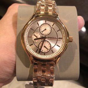 Fossil diamond watch